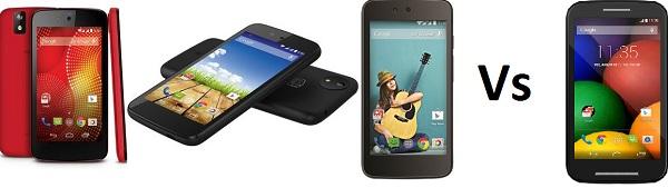 moto e vs android one